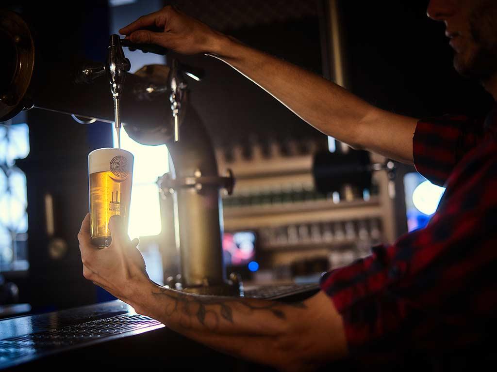 Tirador cerveza de bodega