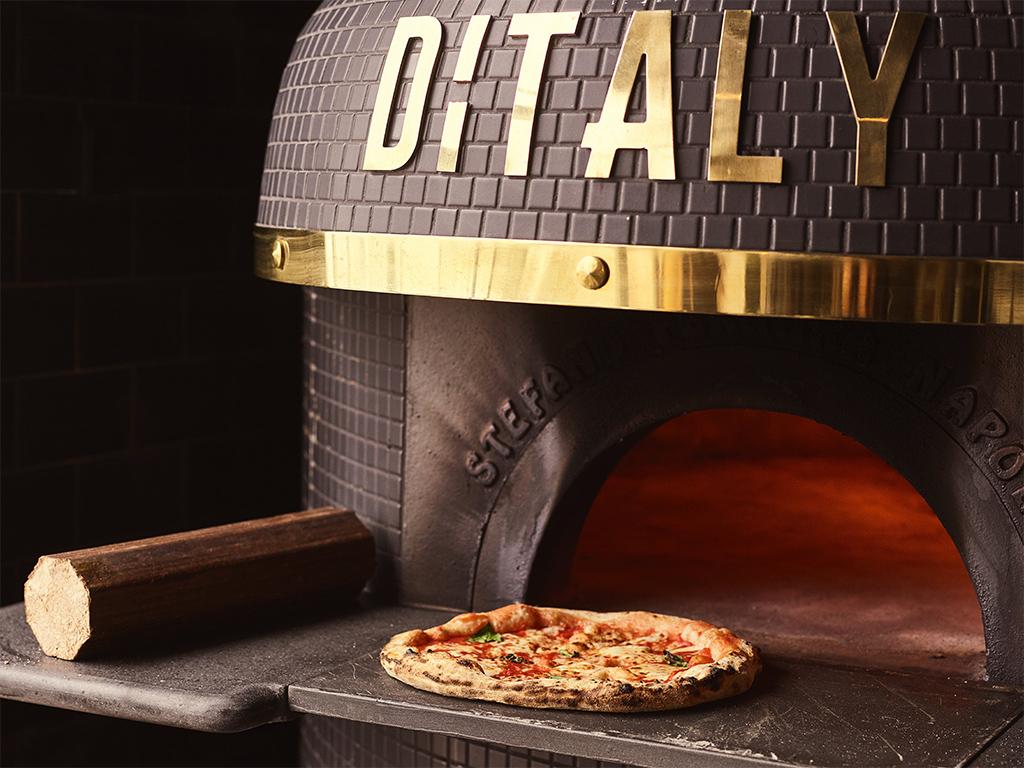 Horno pizza pellet sostenible