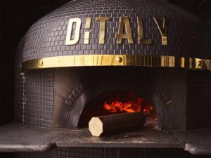 Pellet sostenible horno pizza