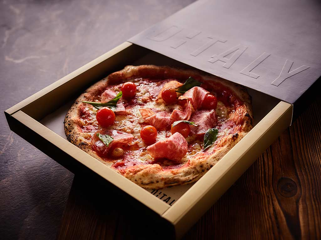 Pizza Ditaly - Caja sostenible