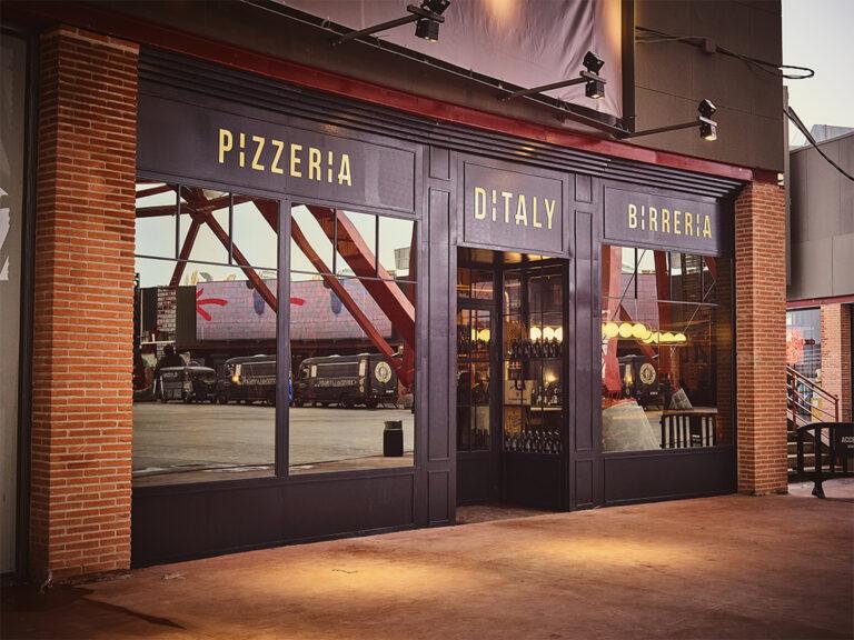 Pizzería Ditaly entrada